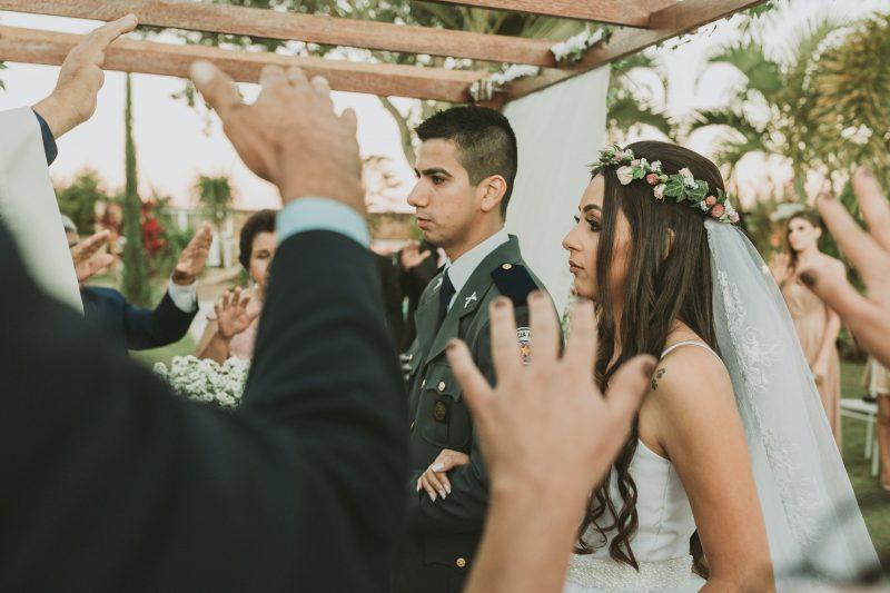 Fotografia feita pela fotógrafa Rafaella Isadora em um casamento