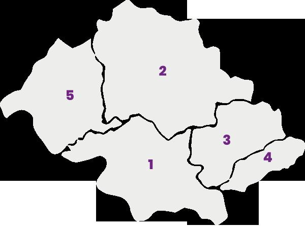 Revista Foco - Mapa Regional