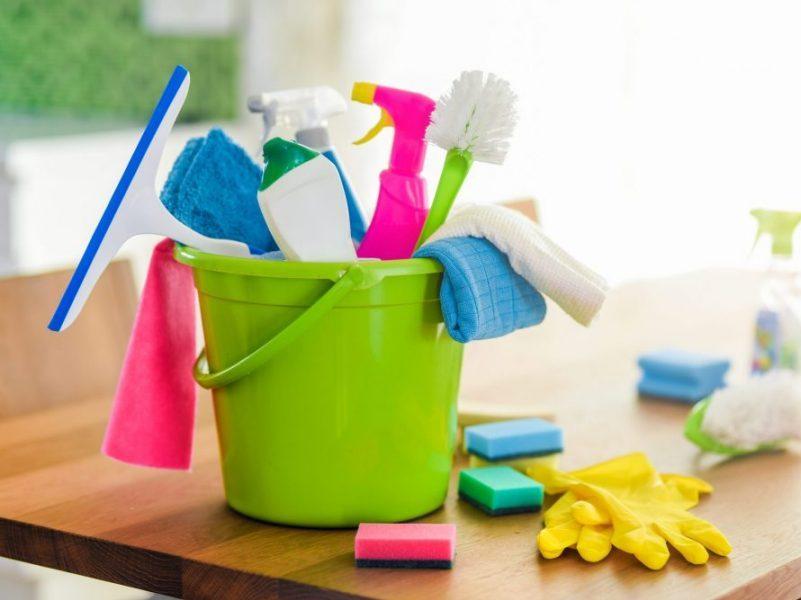 Produtos de limpeza caseiros