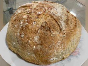 Pão italiano - Pão 10 dobras